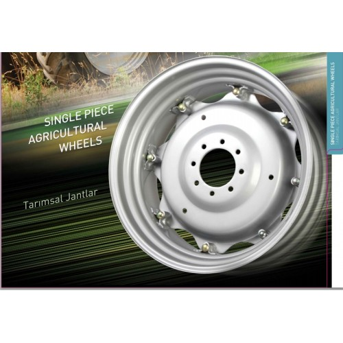 44'' Single Piece Wheels For Tractors, Trailers and Agricultural Machines